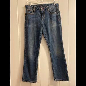 Tommy Hilfiger Spirit Crop Jeans Women's size 8 R